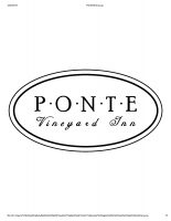 Ponte Vineyard Inn
